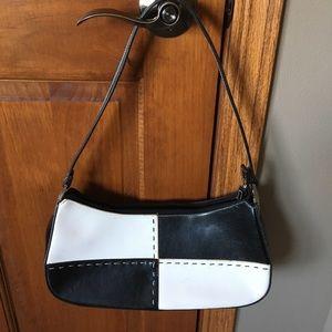 Handbags - Black & white purse